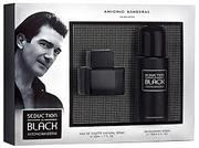 A.Banderas Seduction In Black for men (50ml+150ml deo)