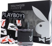 Playboy HOLLYWOOD men set(50ml edt+шорты)