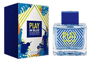 A.Banderas Play In Blue Seduction
